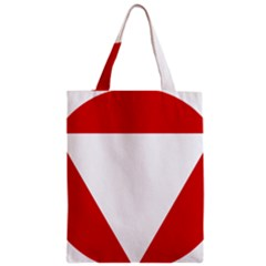 Roundel Of Austrian Air Force  Zipper Classic Tote Bag