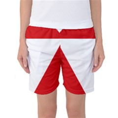 Roundel Of Austrian Air Force  Women s Basketball Shorts