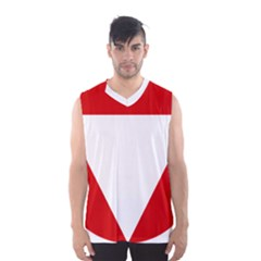 Roundel Of Austrian Air Force  Men s Basketball Tank Top