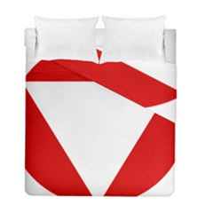 Roundel Of Austrian Air Force  Duvet Cover Double Side (full/ Double Size)
