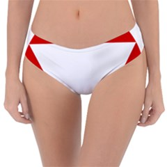Roundel Of Austrian Air Force  Reversible Classic Bikini Bottoms