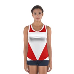 Roundel Of Austrian Air Force  Sport Tank Top