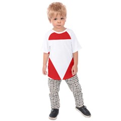 Roundel Of Austrian Air Force  Kids Raglan Tee