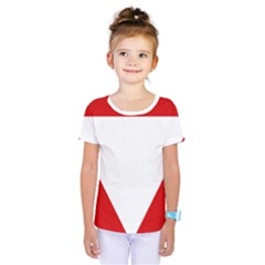 Roundel Of Austrian Air Force  Kids  One Piece Tee