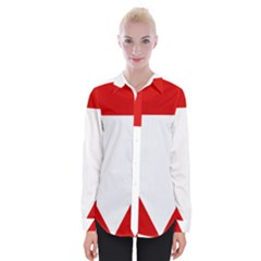 Roundel Of Austrian Air Force  Womens Long Sleeve Shirt