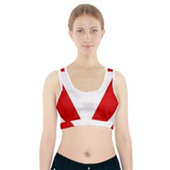 Roundel Of Austrian Air Force  Sports Bra With Pocket