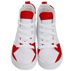 Roundel Of Austrian Air Force  Kid s Hi Top Skate Sneakers