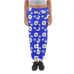 Eggs Blue Women s Jogger Sweatpants by snowwhitegirl