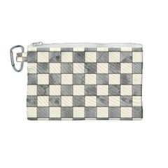 Pattern Background Texture Canvas Cosmetic Bag (medium) by Sapixe