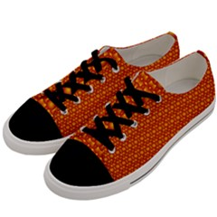 Pattern Creative Background Men s Low Top Canvas Sneakers by Sapixe