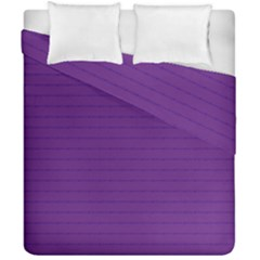 Pattern Violet Purple Background Duvet Cover Double Side (california King Size) by Sapixe