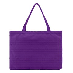 Pattern Violet Purple Background Medium Tote Bag by Sapixe