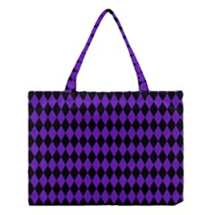 Jester Purple Medium Tote Bag by jumpercat