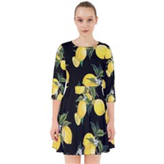 Lemons Smock Dress