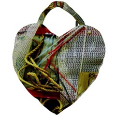 Hidden Strings Of Purity 15 Giant Heart Shaped Tote by bestdesignintheworld