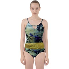 Hidden Strings Of Purity 9 Cut Out Top Tankini Set