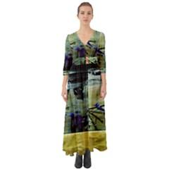 Hidden Strings Of Purity 9 Button Up Boho Maxi Dress