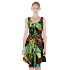 Girl In A Bar Racerback Midi Dress