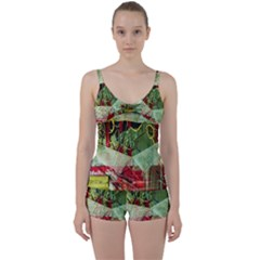 Hidden Strings Of Purity 7 Tie Front Two Piece Tankini