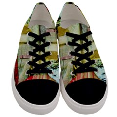 Hidden Strings Of Purity 5 Men s Low Top Canvas Sneakers