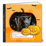 halloween party - 8x8 Photo Book (20 pages)