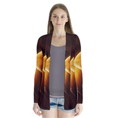 Planets Space Drape Collar Cardigan by Sapixe