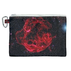Red Nebulae Stella Canvas Cosmetic Bag (xl) by Sapixe