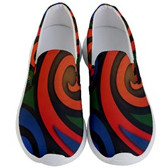 Simple Batik Patterns Men s Lightweight Slip Ons