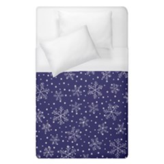 Snowflakes Pattern Duvet Cover (single Size) by Sapixe