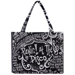 Panic! At The Disco Lyric Quotes Mini Tote Bag