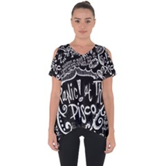 Panic! At The Disco Lyric Quotes Cut Out Side Drop Tee