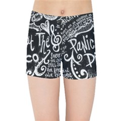 Panic! At The Disco Lyric Quotes Kids Sports Shorts