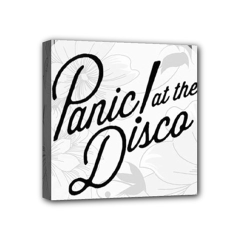 Panic At The Disco Flowers Mini Canvas 4  X 4  by Samandel