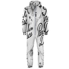 Panic At The Disco Flowers Hooded Jumpsuit (men)