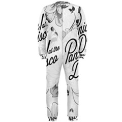 Panic At The Disco Flowers Onepiece Jumpsuit (men)  by Samandel