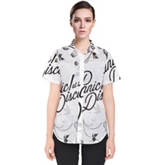 Panic At The Disco Flowers Women s Short Sleeve Shirt