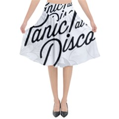 Panic At The Disco Flowers Flared Midi Skirt