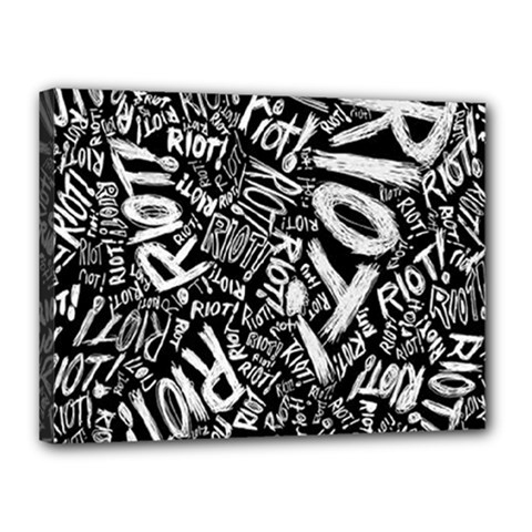 Panic At The Disco Lyric Quotes Retina Ready Canvas 16  X 12  by Samandel