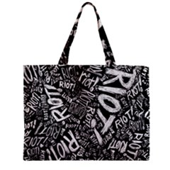 Panic At The Disco Lyric Quotes Retina Ready Zipper Mini Tote Bag by Samandel