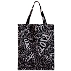 Panic At The Disco Lyric Quotes Retina Ready Zipper Classic Tote Bag by Samandel