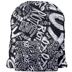 Panic At The Disco Lyric Quotes Retina Ready Giant Full Print Backpack by Samandel
