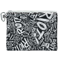 Panic At The Disco Lyric Quotes Retina Ready Canvas Cosmetic Bag (xxl) by Samandel