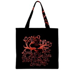 Panic At The Disco   Lying Is The Most Fun A Girl Have Without Taking Her Clothes Zipper Grocery Tote Bag by Samandel