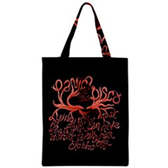 Panic At The Disco   Lying Is The Most Fun A Girl Have Without Taking Her Clothes Zipper Classic Tote Bag by Samandel
