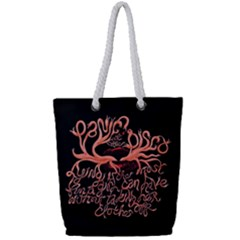 Panic At The Disco   Lying Is The Most Fun A Girl Have Without Taking Her Clothes Full Print Rope Handle Tote (small) by Samandel