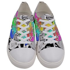 Panic ! At The Disco Women s Low Top Canvas Sneakers