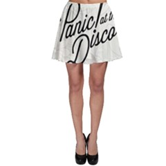 Panic At The Disco Beautifull Floral Skater Skirt by Samandel