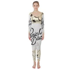 Panic At The Disco Beautifull Floral Long Sleeve Catsuit by Samandel