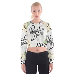 Panic At The Disco Beautifull Floral Cropped Sweatshirt