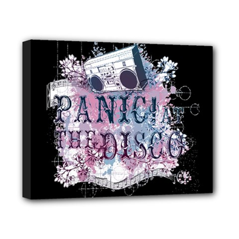 Panic At The Disco Art Canvas 10  X 8